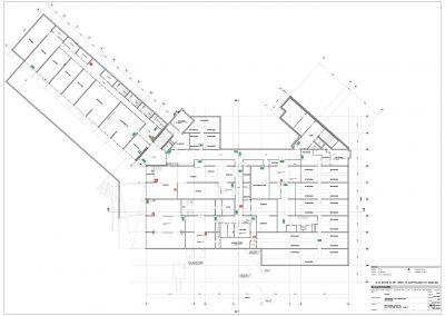 Bestaande situatie gebouwen inmeten en uittekenen 03 plattegrond BouwAdviesNL