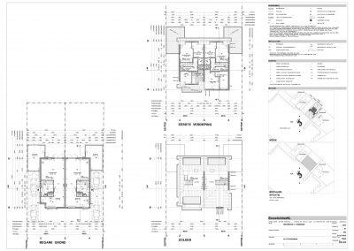 BouwAdviesNL Tekening Omgevingsvergunning Nieuwbouw woning 2 onder 1 kap 3