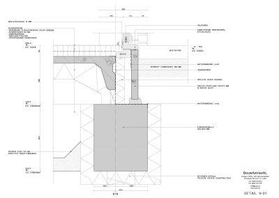 BouwAdviesNL Tekening Omgevingsvergunning Nieuwbouw woning 2 onder 1 kap 6
