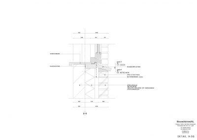 BouwAdviesNL Tekening Omgevingsvergunning Nieuwbouw woning 2 onder 1 kap 8