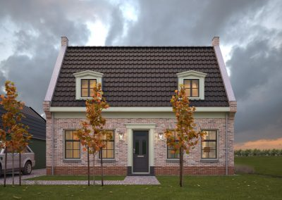 BouwAdviesNL Tekening Omgevingsvergunning Nieuwbouw vrijstaande woning Lopik 2_resized