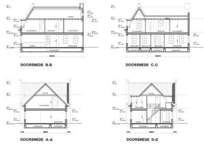 BouwAdviesNL Tekening Omgevingsvergunning Nieuwbouw vrijstaande woning Lopik 6