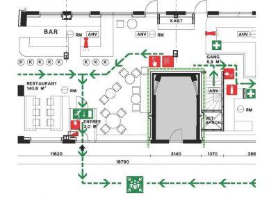 Gebruiksmelding restaurant 01 melding brandveilig gebruik hotel restaurant Amsterdam BouwAdviesNL