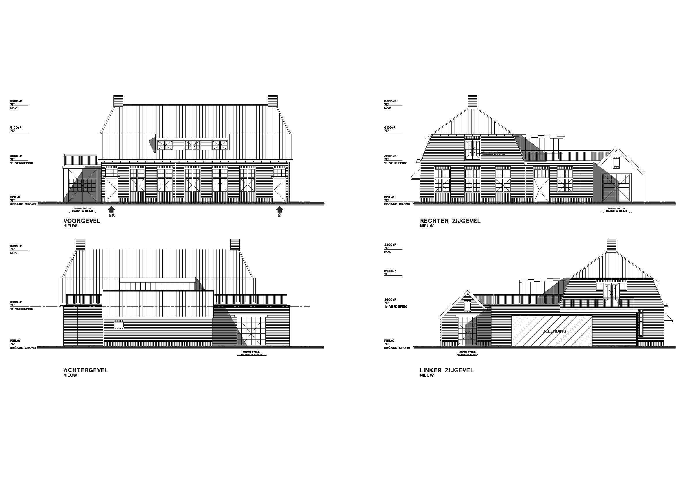 Verwonderend Verbouwing kantoor tot twee woningen Huizen - BouwAdviesNL UB-57