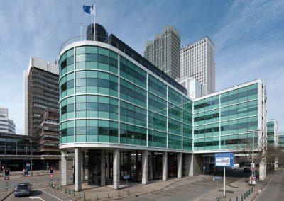 Interne verbouwing kantoorgebouw Den Haag