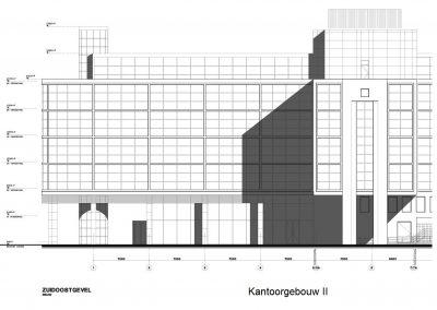 Tekenwerk verbouwing kantoren 03 tekeningen aanvraag vergunning kantoorgebouw BouwAdviesNL