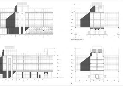 Tekenwerk verbouwing kantoren 04 tekeningen aanvraag vergunning kantoorgebouw BouwAdviesNL