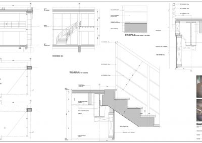 Tekenwerk verbouwing kantoren 05 tekeningen aanvraag vergunning kantoorgebouw BouwAdviesNL