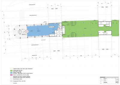 Tekenwerk verbouwing kantoren 06 tekeningen aanvraag vergunning kantoorgebouw BouwAdviesNL