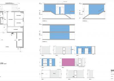 Tekenwerk verbouwing kantoren 07 tekeningen aanvraag vergunning kantoorgebouw BouwAdviesNL