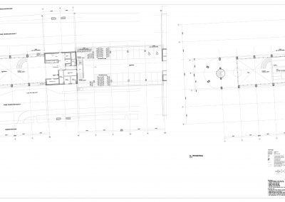Tekenwerk verbouwing kantoren 08 tekeningen aanvraag vergunning kantoorgebouw BouwAdviesNL