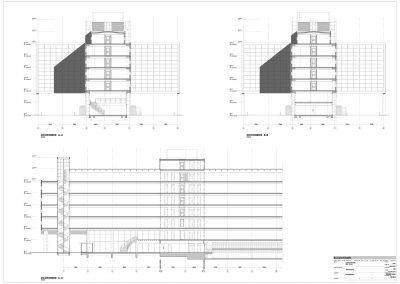Tekenwerk verbouwing kantoren 09 tekeningen aanvraag vergunning kantoorgebouw BouwAdviesNL