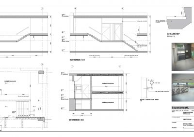Tekenwerk verbouwing kantoren 10 tekeningen aanvraag vergunning kantoorgebouw BouwAdviesNL