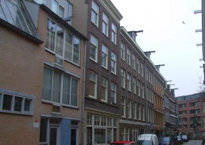 Bestaande situatie woningen Amsterdam