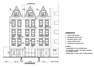 Bestaande situatie inmeten en uittekenen bestaand gebouw 02 Bouwadvies.nl