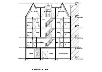 Bestaande situatie inmeten en uittekenen bestaand gebouw 06 Bouwadvies.nl