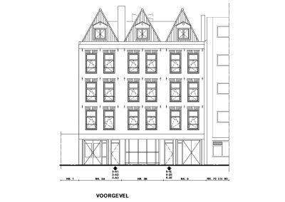 Bestaande situatie inmeten en uittekenen bestaand gebouw 08 Bouwadvies.nl