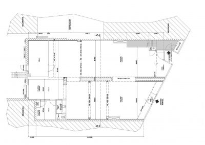 Inmeten bestaande sitauatie tekening bestaand pand 03 plattegrond bestaand BouwAdviesNL
