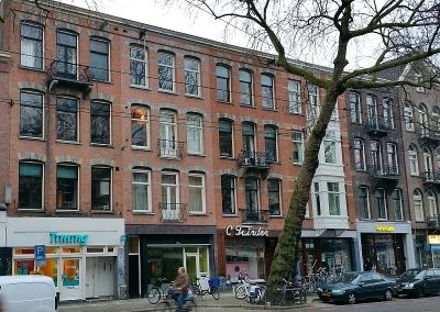 Verbouwing woning en uitbouw Amsterdam