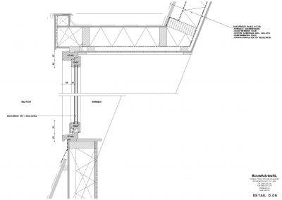 Inmeten bestaande situatie tekening bestaande situatie aanvraag vergunning verbouwing woning 05 Amsterdam