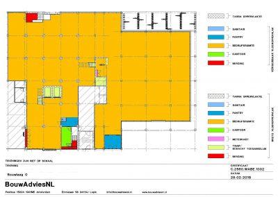 Oppervlakte gebouwen NEN 2580 BVO VVO meetcertificaat NEN 2580 kantoorgebouw 02 BouwAdviesNL