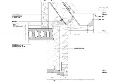 Tekening nieuwbouw woning aanvraag omgevingsvergunning 05 bouwdetail 1 BouwAdviesNL