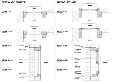 Tekening verbouwing restaurant omgevingsvergunning 04 BouwAdvies Bouwtekening
