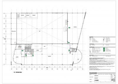 Verbouwing kantoor tekeningen aanvraag vergunning bouwbegeleiding 03 BouwAdviesNL