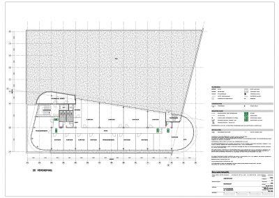 Verbouwing kantoor tekeningen aanvraag vergunning bouwbegeleiding 04 plattegrondtekening BouwAdviesNL