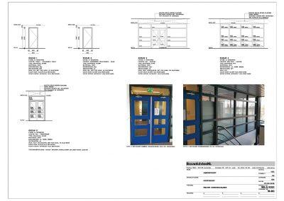 Verbouwing kantoor tekeningen aanvraag vergunning bouwbegeleiding 07 BouwAdviesNL