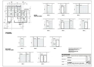 Verbouwing kantoor tekeningen aanvraag vergunning bouwbegeleiding 08 bouwtekening BouwAdviesNL