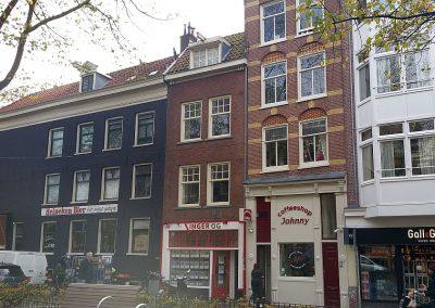 Verbouwing woning Amsterdam tekening aanvraag vergunning dakterras 01 inmeten bestaande situatie BouwAdviesNL